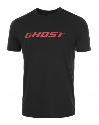 GHOST T-Shirt - Bike Tee Ghost schwarz/rot 2017lime green Modell 2015